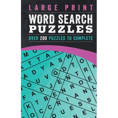 Large Print Crossword Puzzles  Over 200 Puzzles To Complete