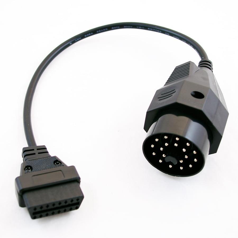 Goliton OBD OBD2 16 Pin Connector Diagnostic Adapter for BMW 20 Pin