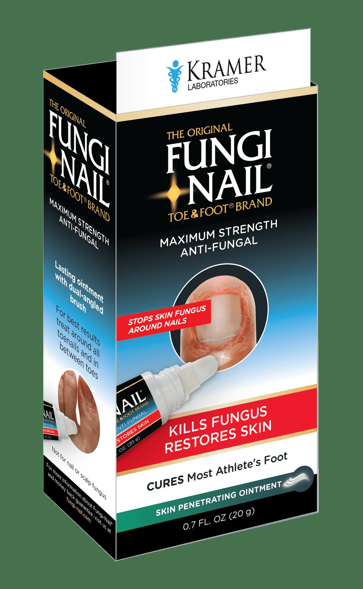 The Original Fungi Nail Toe & Foot Brand Maximum Strength Anti ...