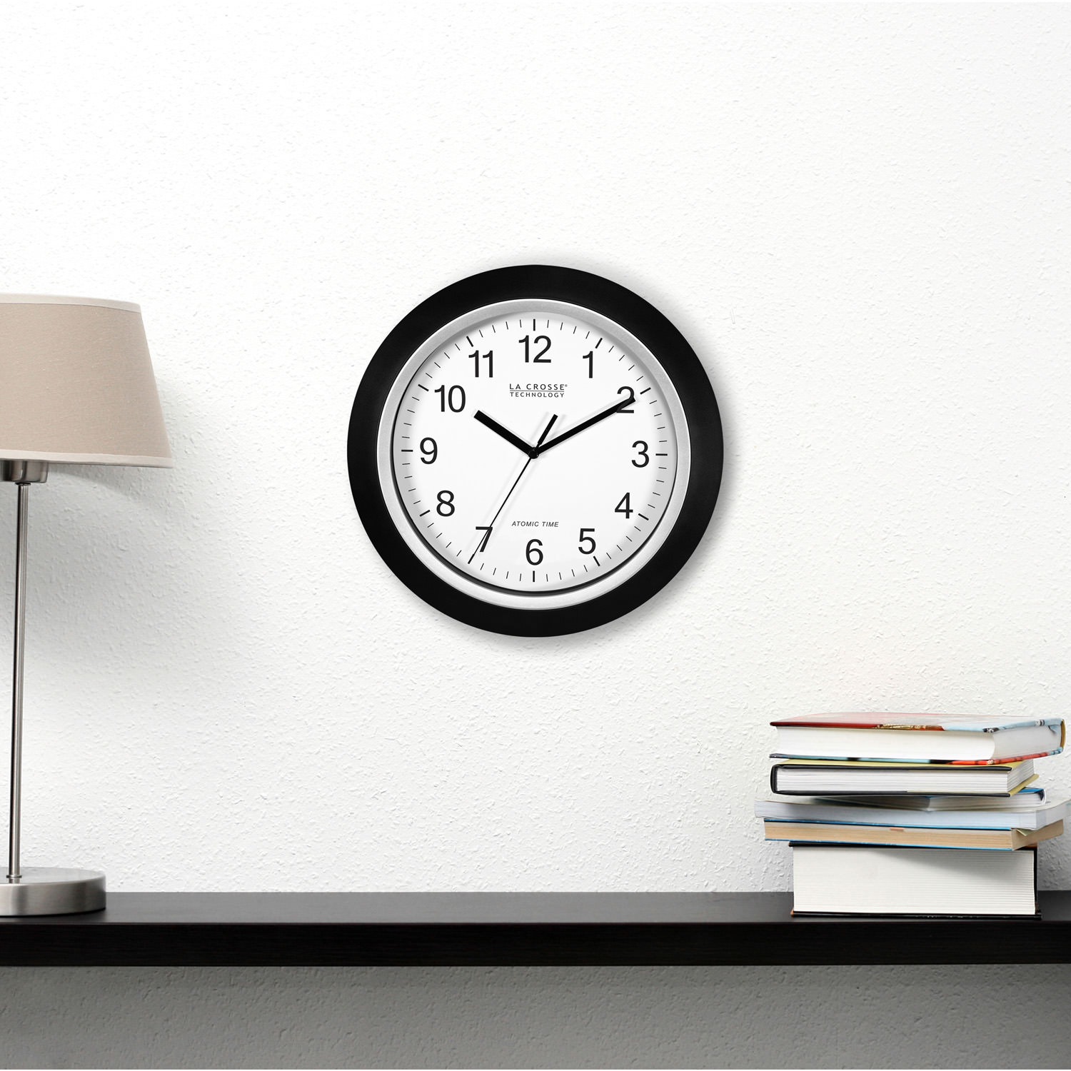 Better homes and gardens 12 inch analog atomic wall clock better homes and gardens 12 inch analog atomic wall clock walmart amipublicfo Gallery