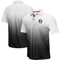 Florida State Seminoles Colosseum Magic Team Logo Polo - Heathered Gray