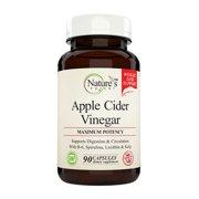 Nature's Potent™ - Apple Cider Vinegar, Dietary Supplement Pills,  90 (capsules)