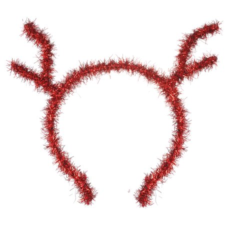Lux Accessories Red Reindeer Horns Christmas Holiday Girls Fashion Headbands](Reindeer Horns)