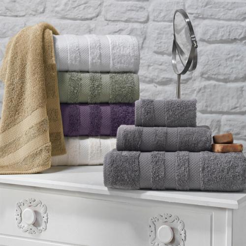 Enchante Symptom 6-piece Supima Cotton Towel Set Cream
