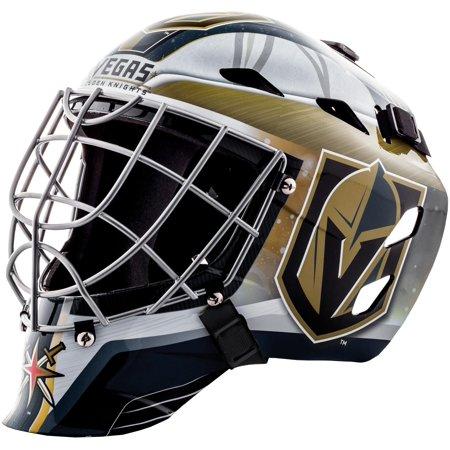 Vegas Golden Knights Unsigned Franklin Sports Replica Full-Size Goalie Mask (Bane Replica Mask)