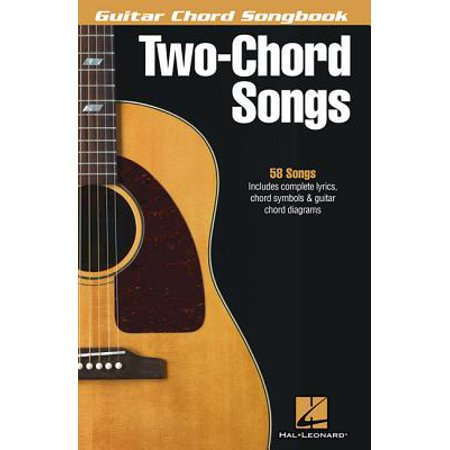 Guitar Chord Songbook Book - Two-Chord Songs - Guitar Chord Songbook