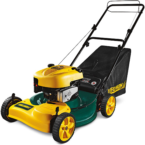yard machine self propelled lawn mower
