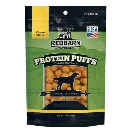 Protein Puff Dog Treat Snacks Low Calorie Training Aid 1.8 oz Pack Choose Flavor -