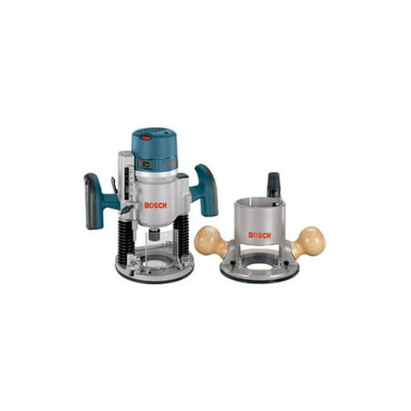 Bosch 1617EVSPK 12 Amp 2.25 HP Combination Plunge and Fixed-Base Router