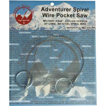 Best Glide ASE Adventurer Spiral Wire Pocket Saw