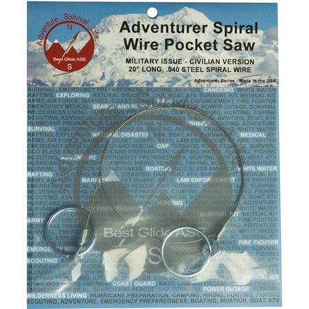 Best Glide ASE Adventurer Spiral Wire Pocket (Best Garden Saws)