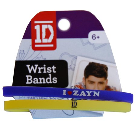 One Direction Wristband - 1D One Direction Wrist Band 2 Pack Zayn