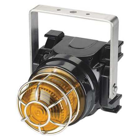Strobe Light,Amber,Xenon,1.50A,Brckt Mnt FEDERAL SIGNAL G-STR-024-T-A