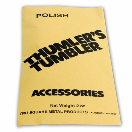 Thumlers Tumbler 2 oz of Rock Tumbling Polish for Final Stage - Thumlers Tumbler Rock