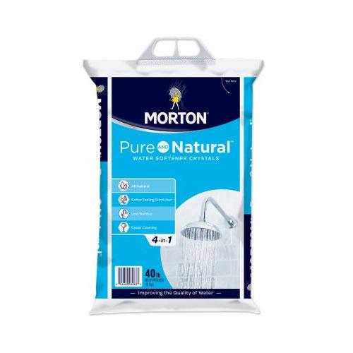 Morton® Pure and Natural™ Water Softener Crystals (40 lb.)