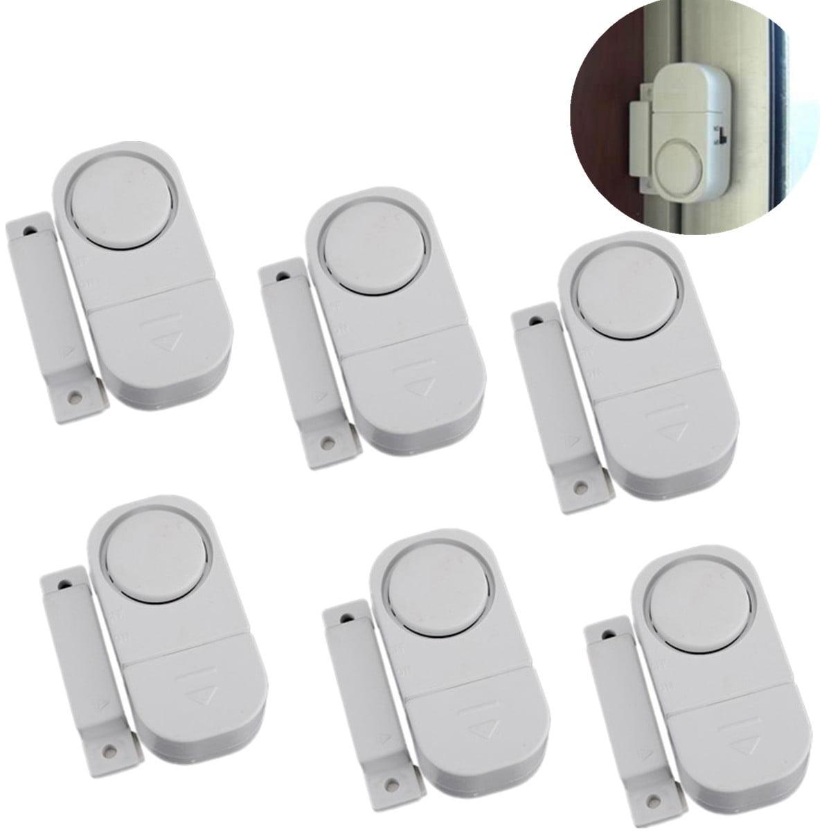 6-Pack Wireless Home Door Window Entry Burglar Security Alarm Magnetic Sensor