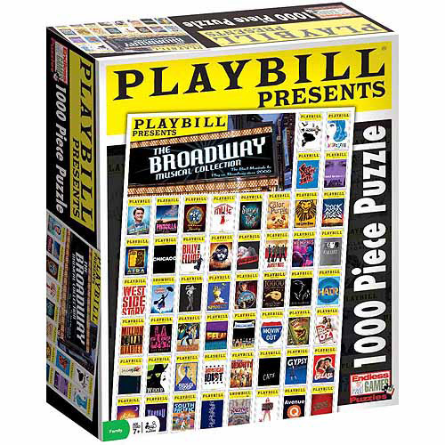 Playbill Best of Broadway Jigsaw Puzzle