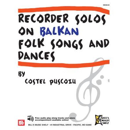 Recorder Solos on Balkan Folk Songs and Dances - Halloween Theme Song On Recorder