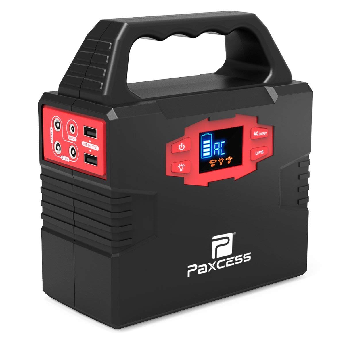 Paxcess PA100 Portable Power Station Gas Free Solar Generator