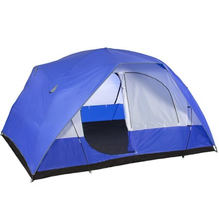 Best Choice Products 5 Person Camping Tent Family Outdoor Sleeping Dome Water Resistant W/ Carry Bag