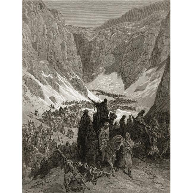 Posterazzi DPI1859767LARGE The Christian Army in The Mountains of Judea Poster Print, Large - 26 x 34 - image 1 de 1