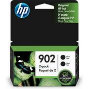 HP 902 Ink Cartridges - Black, 2 Cartridges (3YN96AN)