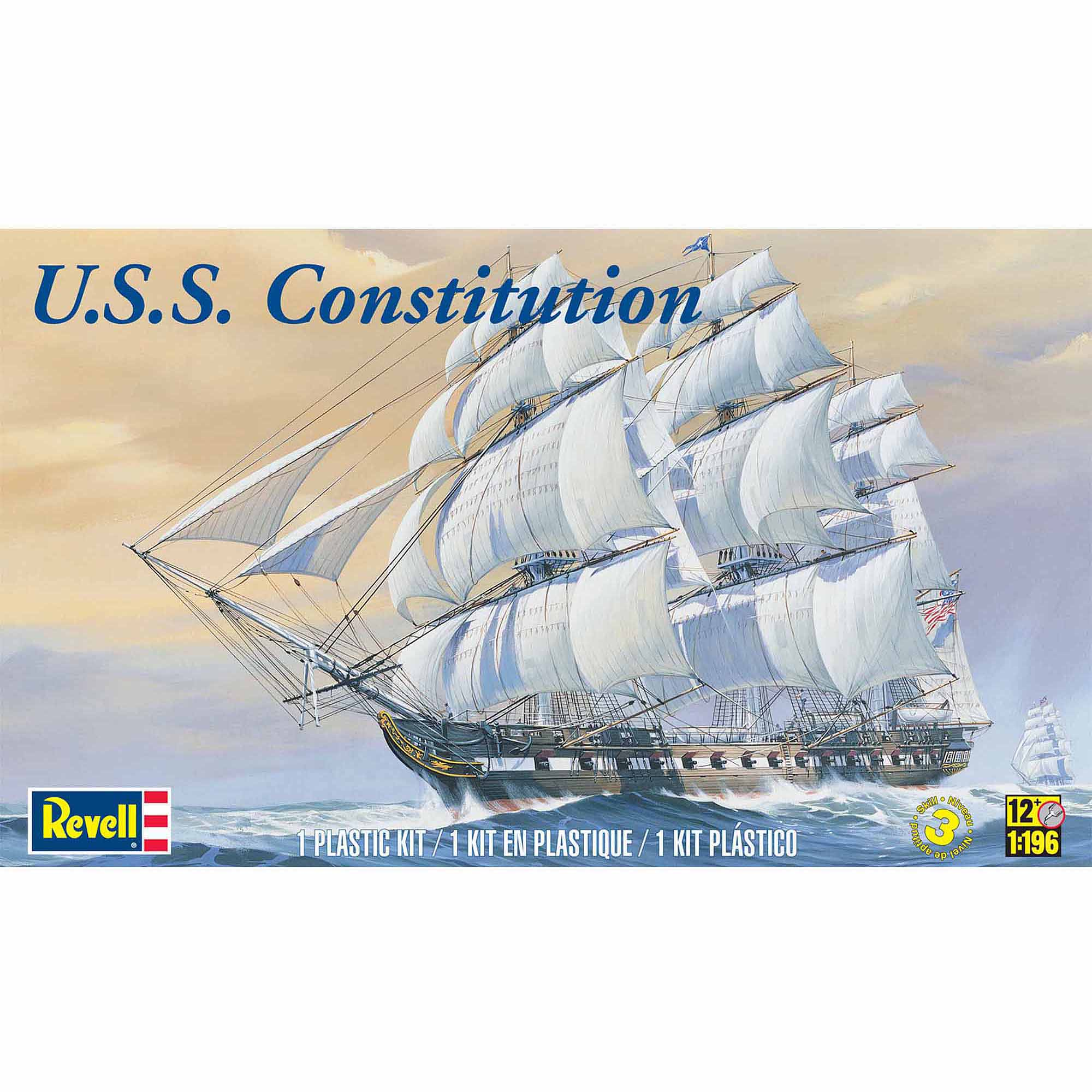 Revell 1:196 Scale USS Constitution Model Kit