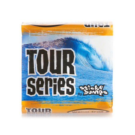 Sticky Bumps Surf Wax Tour Series Warm Tropical White