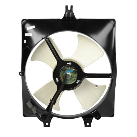 For 2003 to 2007 Honda Accord 3.0L Factory Style AC Condenser Cooling Fan Assembly HO3115125 04 05 (2003 Honda Accord 2 Door For Sale)
