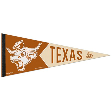 Wincraft New England Patriots Pennant (Texas Longhorns Official NCAA 12 inch  x 30 inch  Premium Pennant by)