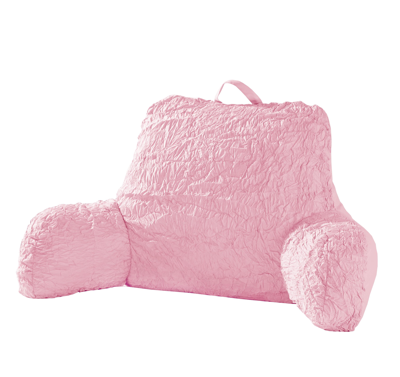 Better Homes & Gardens Kids Textured Ruffle Boyfriend Pillow by Idea Nuova