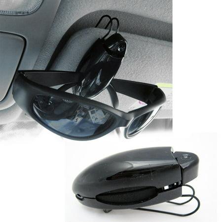 2 Sunglass Visor Clip Sunglasses Eyeglass Holder Car Auto Reading Glasses (Sunglass Clips)