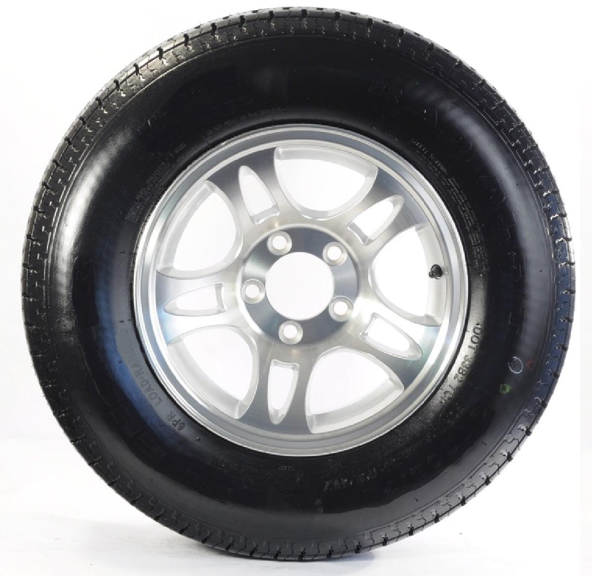 Goodyear Endurance Trailer Tire Rim St215 75r14d 5 4 5 T03 Split