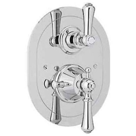 Rohl U5756 Perrin And Rowe Thermostatic Shower Valve Trim Available