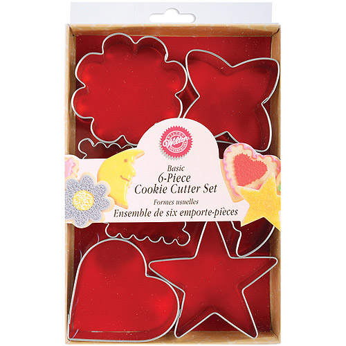 Wilton Cookie Cutter Set, Basic Shapes 6 ct. 2308-1235