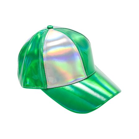 Adults Saint Patrick's Day Irish Iridescent Basbeall Hat Costume Accessory](Saint Nicholas Costume)