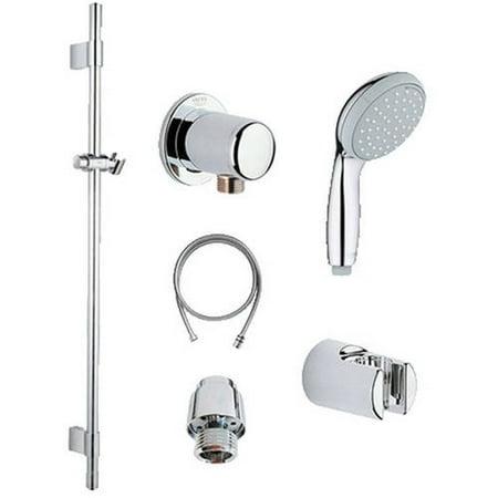 Grohe 121782 NewTempesta Shower Kit, Chrome - Walmart.com