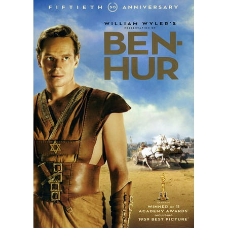Warner Brothers Ben-hur 50th Anniversary Edit Dvd 2pk Ff (Halloween Warner Brothers)