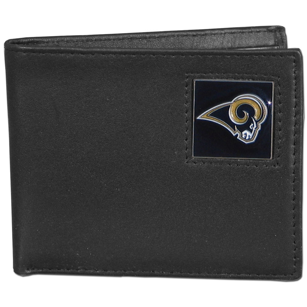 St. Louis Rams Official NFL Bi fold Wallet in Tin by Siskiyou 072703