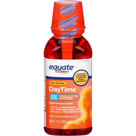 equate jour Rhume et grippe, 12 oz