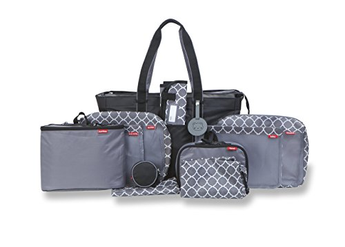 Baby Boom Pack Right Complete Diaper Bag Organizer Kit Includes Diaper Bag Tote Plus Pack Right Food, Clothes,... by Pack Right