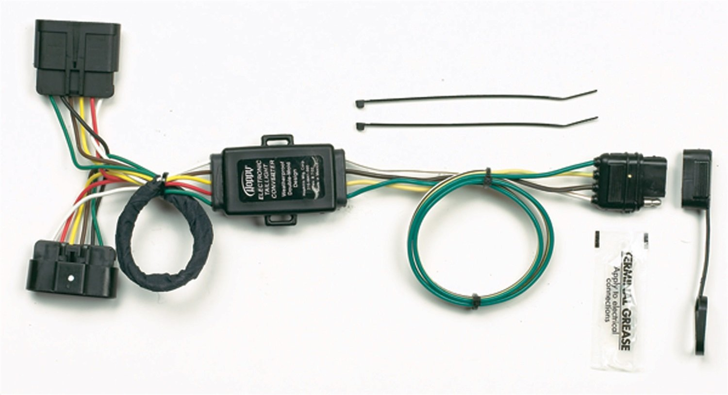 Hoppy Wiring Harness Simple Diagram Trailer Hitch Adapter Hopkins 41165 Plug In Vehicle Kit Connector Chevrolet Caterpillar