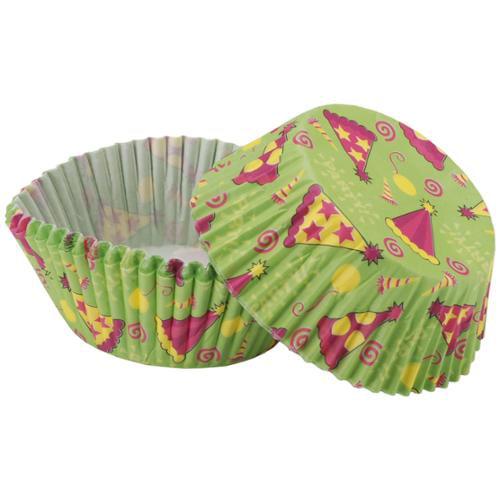 Baking Cups-Party Hat 50/Pkg-Standard