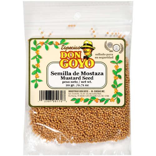Don Goyo Mustard Seed, .71 oz