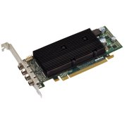 Matrox 9148 LP PCIe x 16 Graphic Card - 2560 x 1600 - 1 x DisplayPort - 1 x Total Number of DVI - 4 x Monitors Supported