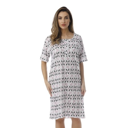 Just Love Short Sleeve Nightgown Sleep Dress for