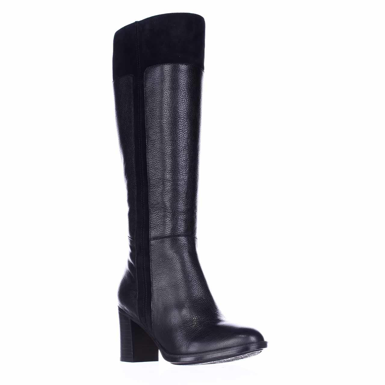 Womens naturalizer Frances Wide Calf Knee High Dres Boots...