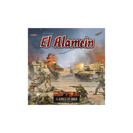 Desert Miniatures - Battle of El Alamein - War in the Desert New