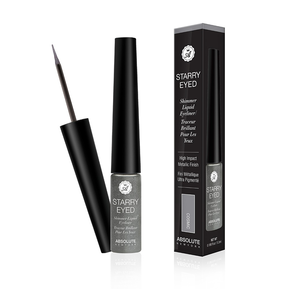 (6 Pack) ABSOLUTE Starry Eyed Shimmer Liquid Eyeliner - Cosmic