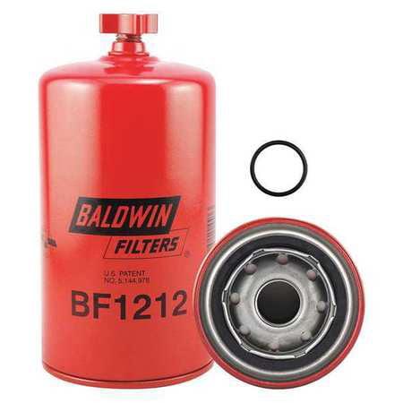 Baldwin Filters BF1212 7-7/16 x 3-11/16 x 7-7/16 In Fuel Filter